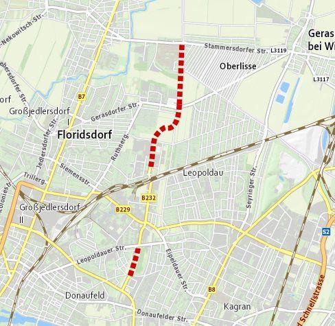 Routenführung B232