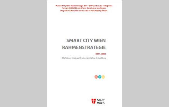 Cover der SmartCity Rahmenstrategie 2019