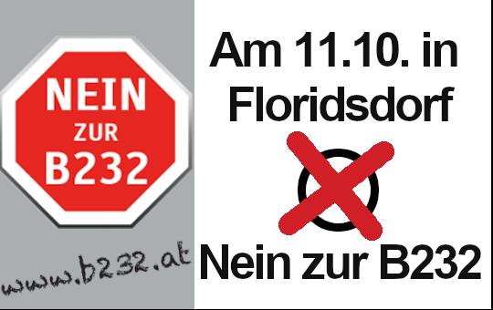 Nein zur B232 bei der Bezirksvertretungswahl