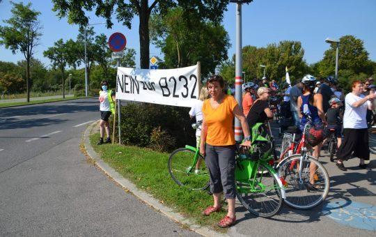 Start der Familien Radfahrt 2020