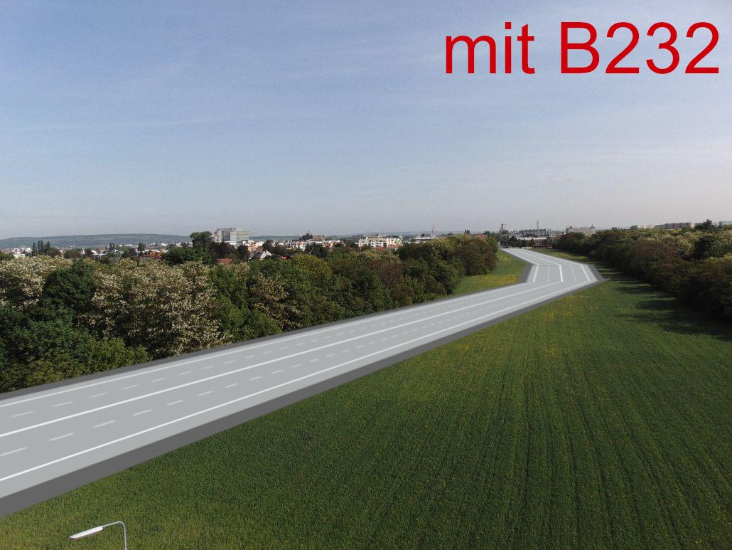 mit Hochleistungsstrasse B232